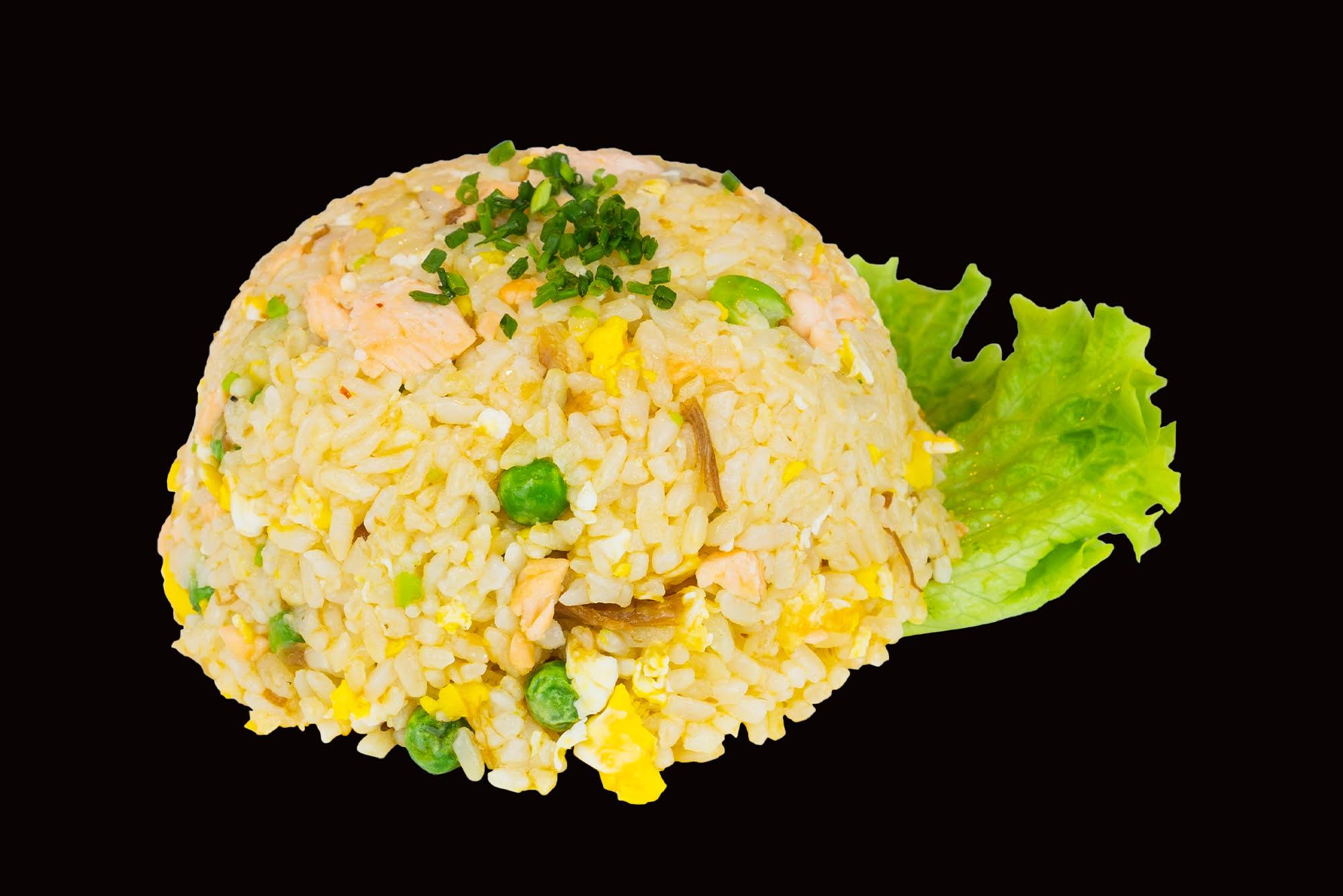 HOT FOOD RISO SALTATO CON SALMONE